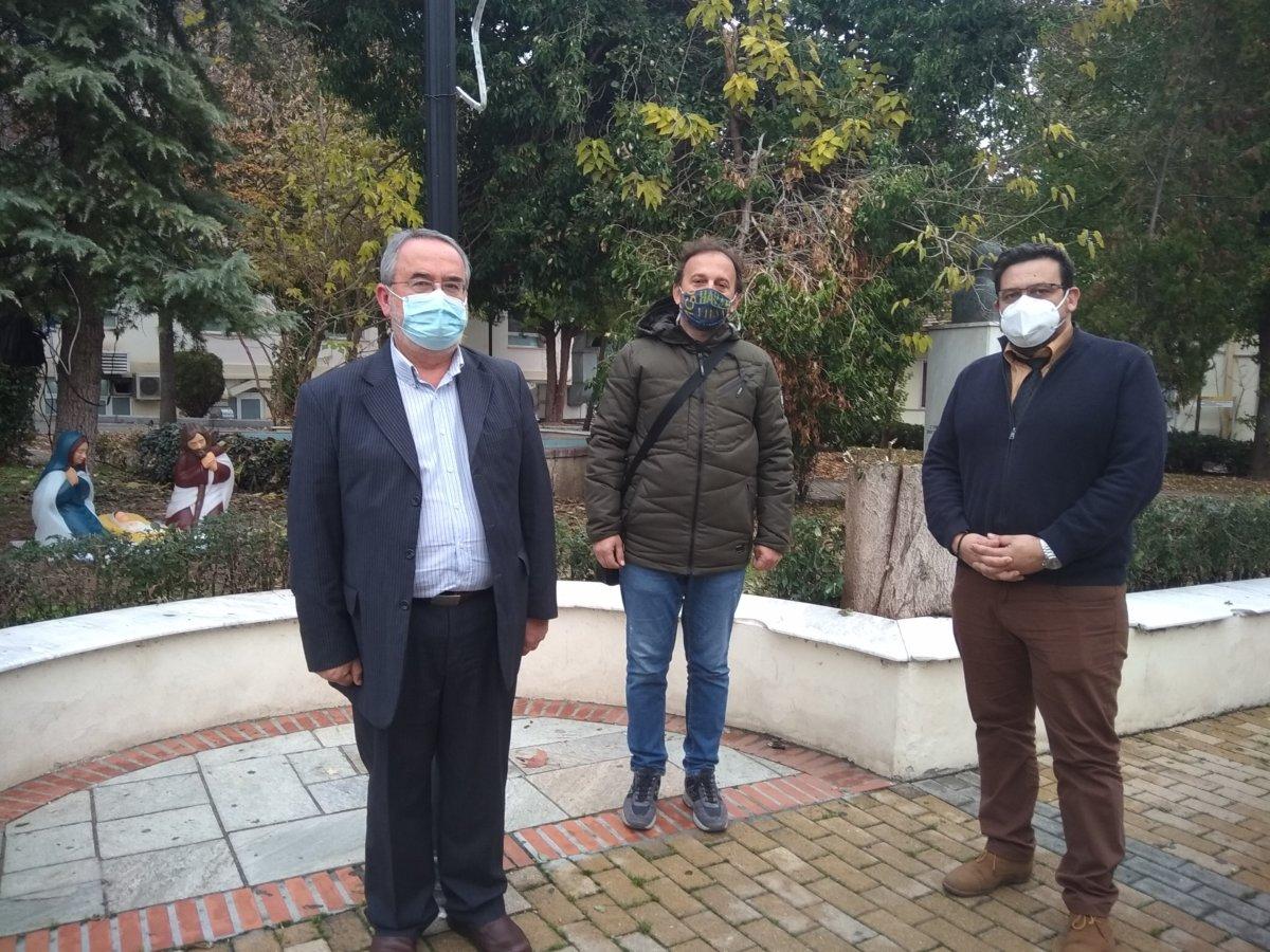 Χριστουγεννιάτικες νότες χαράς στο Γενικό Νοσοκομείο από Λαρισαίους εμπόρους